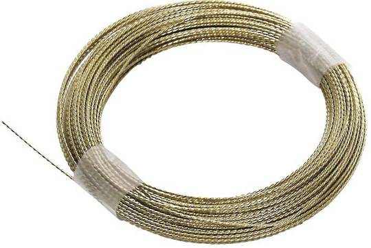 BRAIDED CUT OUT WIRE - GOLD  -21.95M
