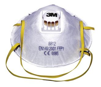 DUST MASK - P1 VALVE - SINGLE