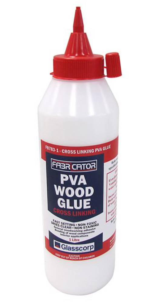 CROSS LINKING PVA GLUE - 1 LITRE