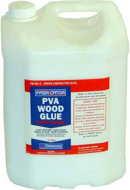 CROSS LINKING PVA GLUE - 4 LITRE