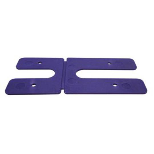 1.0MM H PACKERS - PURPLE  (BOX OF 100)