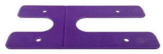 1.0MM H PACKERS-PURPLE (BOX OF 100) LONG