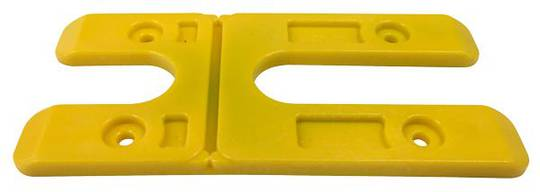 4.0MM H PACKERS -YELLOW(BOX OF 100) LONG