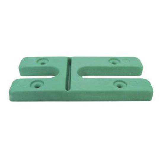 8.0MM H PACKERS- GREEN (BOX OF 100)