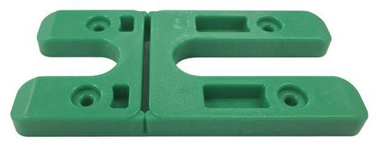 8.0MM H PACKERS- GREEN (BOX OF 500) LONG