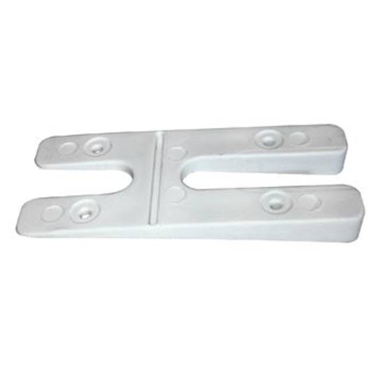 SLOPED H PACKERS - WHITE (BOX 100)