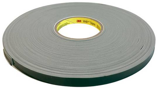VHB TAPE 4622 WHITE-1.1MM X 12.7MM X 33M