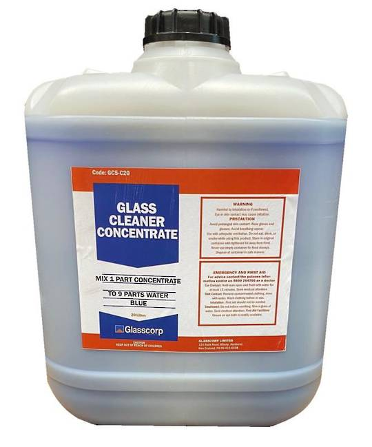 GLASS CLEANER CONCENTRATE  20 LTR (BLUE)