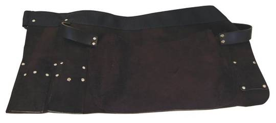 GLASS CUTTERS LEATHER APRON-SHORT
