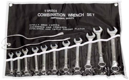 11 PIECE SPANNER SET - IMPERIAL