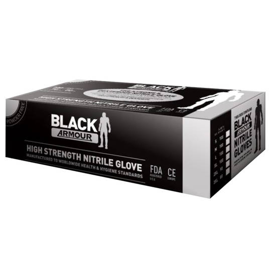 ARMOUR NITRILE GLOVES - MEDIUM