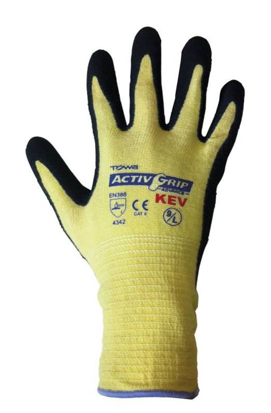 TOWA ACTIVGRIP ADVANCE KEV GLOVE X LARGE