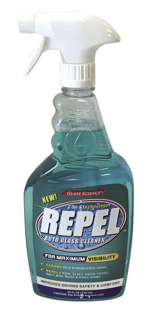 REPEL GLASS CLEANER & REPELLENT - 740ml