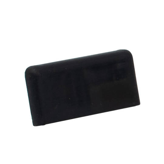 FINELINE SQUARE END CAP - BLACK R/H