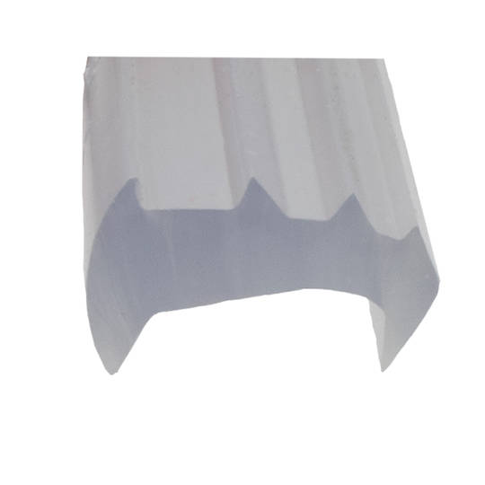 FINELINE WEDGE RUBBER - LARGE CLEAR