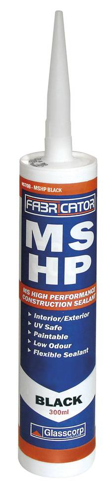 GLASSCORP MSHP SEALANT - BLACK 300ML