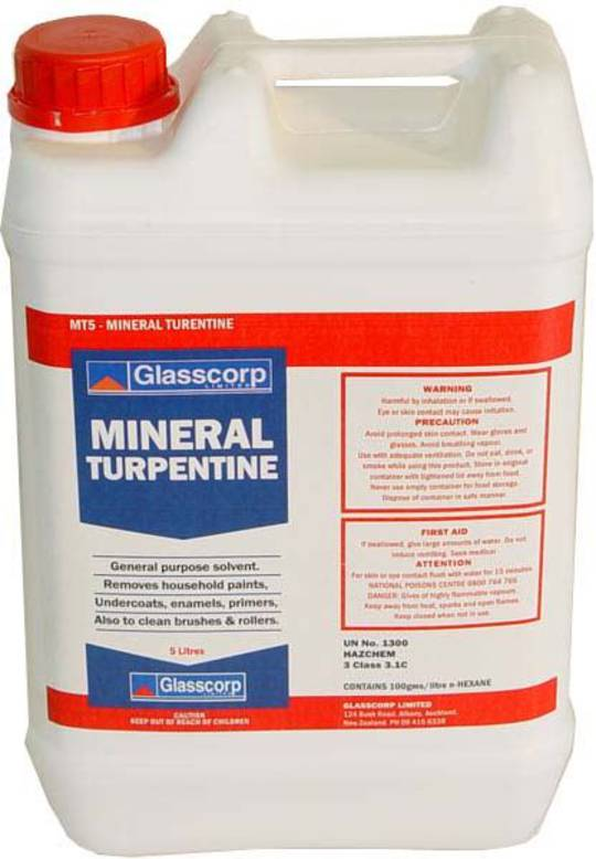 MINERAL TURPENTINE - 5 LITRE