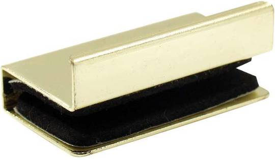 STEREO DOOR HANDLE GOLD - LIPPED