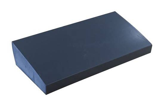 SILICONE SLOPED SETTING BLOCK - BLUE
