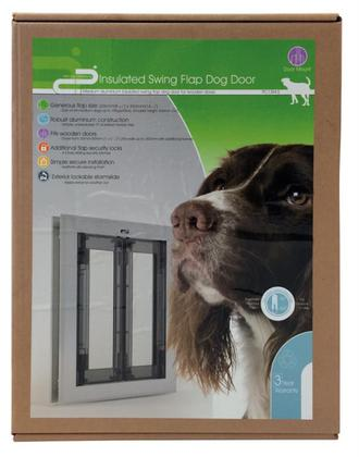 INSULATED SWING FLAP DOG DOOR MEDIUM