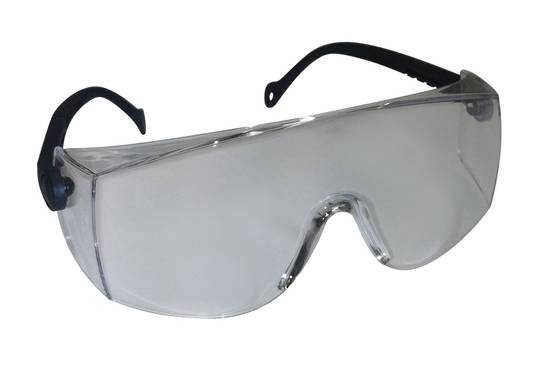SAFETY GLASSES CLEAR
