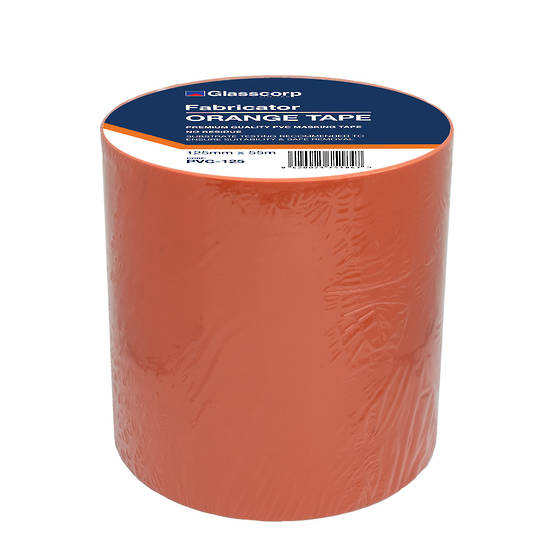 PREMIUM ORANGE PVC TAPE - 125MM