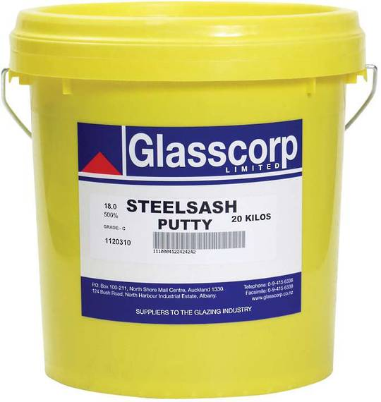 GLASSCORP STEEL FRAME PUTTY - 20KG