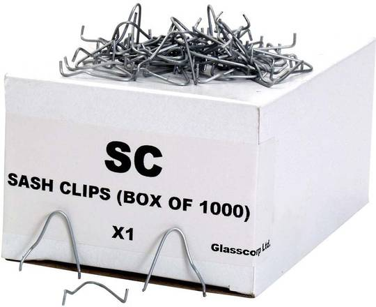 STEELSASH GLAZING CLIPS
