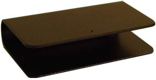 STEREO DOOR HANDLE BLACK - FLAT