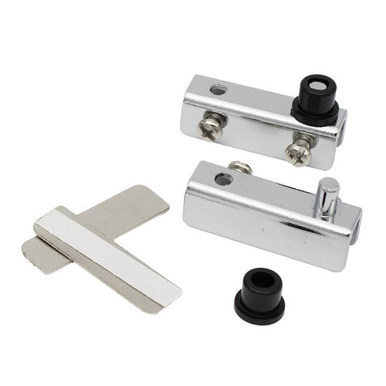 STANDARD PIVOT HINGE - CHROME (Pair)