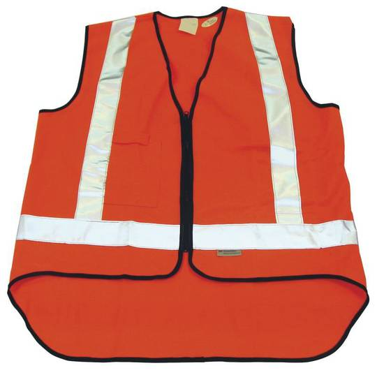 ORANGE SAFETY VEST - XX LARGE