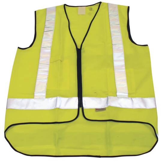 YELLOW SAFETY VEST - LARGE