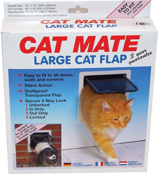 CAT MATE THIN PANEL CAT DOOR - LARGE