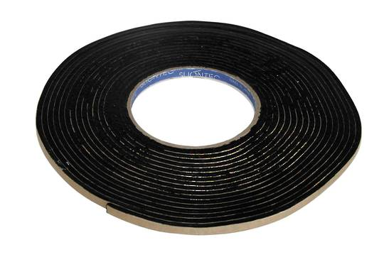 BUTYL TAPE 1.0MM X 6.0MM X 15M