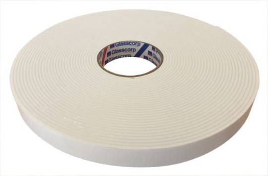 DOUBLE SIDED TAPE - 0.8MM X 12MM X 66M