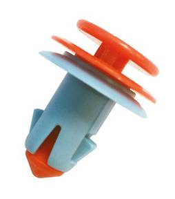VE SCUTTLE CLIPS-ORANGE/BLUE