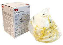 3M DUST MASK - P1 WITH VALVE (10 PACK)