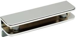 GLASS SHELF BRACKET 10MM GLASS - CHROME