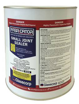 SMALL JOINT SEALER - CLEAR 4 LITRE