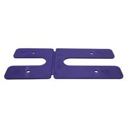 1.0MM H PACKERS - PURPLE  (BOX OF 500)