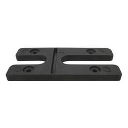 6.0MM H PACKERS- BLACK (BOX OF 100)
