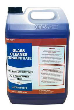 GLASS CLEANER CONCENTRATE - 5 LITRE