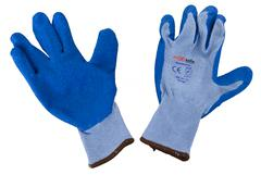 BIG BLUE LATEX GLOVES