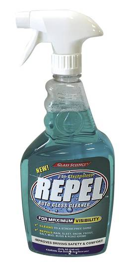 REPEL GLASS CLEANER & REPELLENT 25OZ