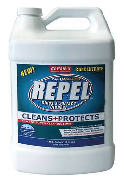 REPEL GLASS CLEANER CONCENTRATE 1 GALLON