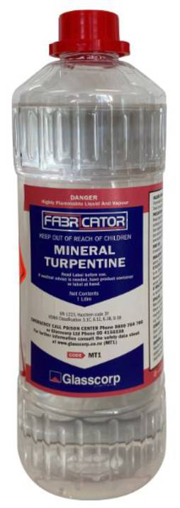 MINERAL TURPENTINE - 1 LITRE