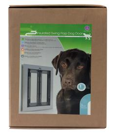 INSULATED SWING FLAP DOG DOOR LARGE