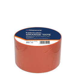 PREMIUM ORANGE PVC TAPE - 75MM