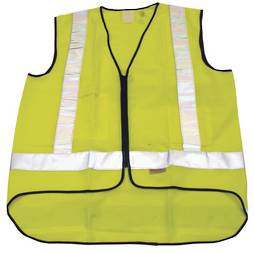 YELLOW SAFETY VEST - EXTRA LARGE