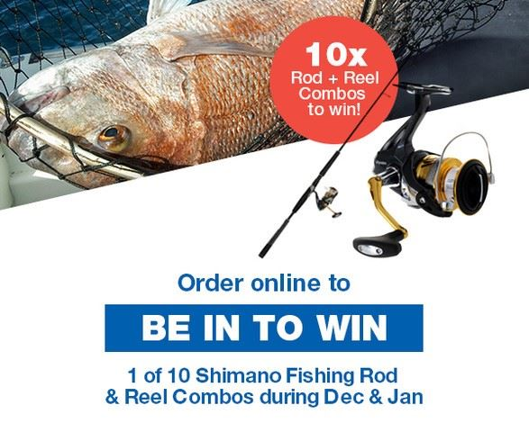 Be in to WIN Fishing promo